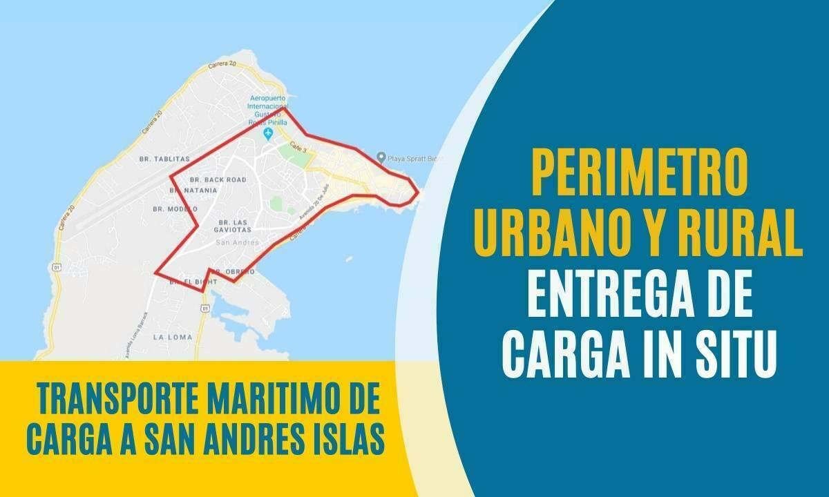 Perimetro urbano y rural en san andres Islas